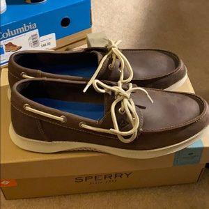 Sperry Boat shoes , memory foam
